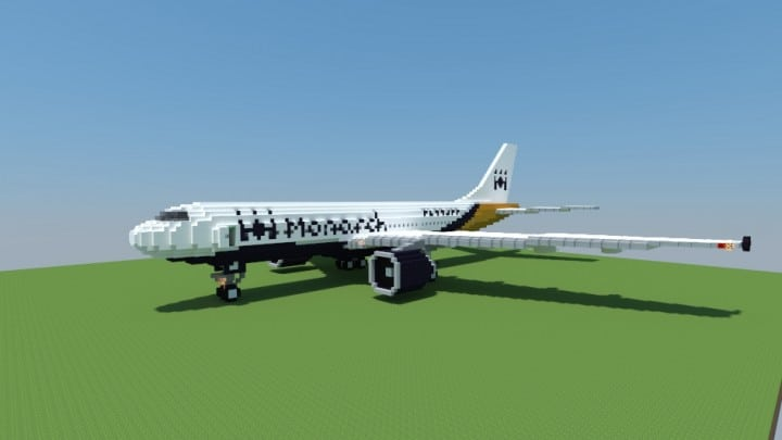 Airbus A300-600 Monarch Airlines airplane fly wings big plane download amazing 5