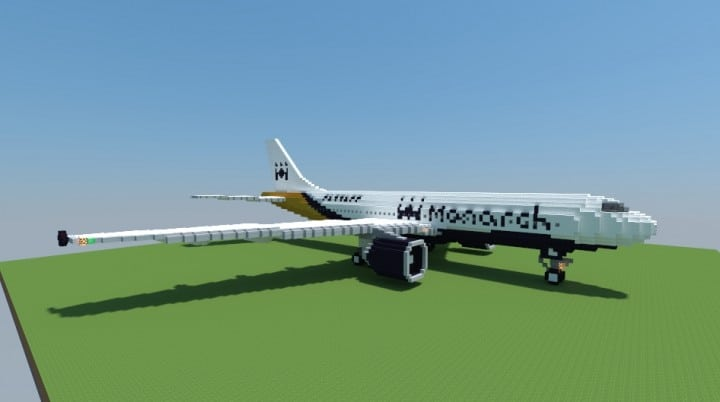 Airbus A300-600 Monarch Airlines airplane fly wings big plane download amazing