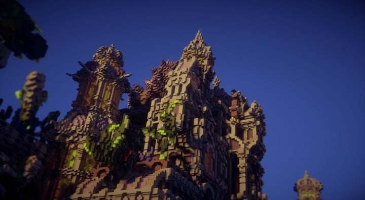 Echoes from The Deep under water castle minecraft building ideas 8