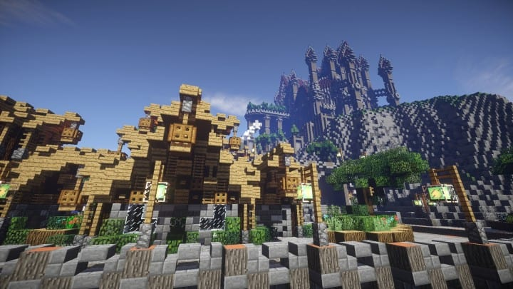 Regensbergen minecraft castle building ideas download hill top wall city 12