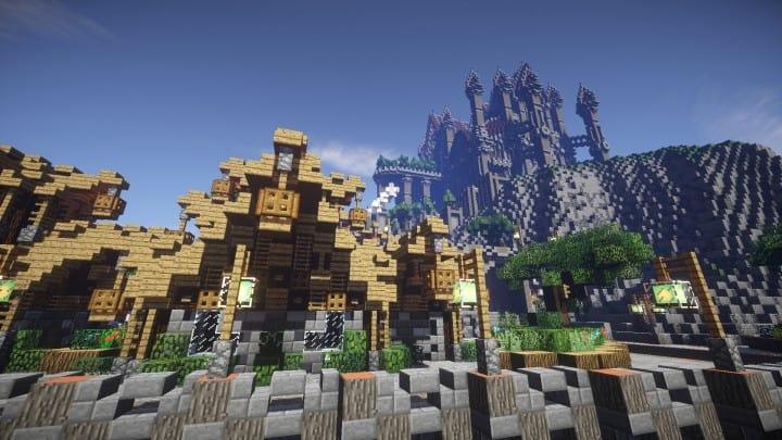 Regensbergen minecraft castle building ideas download hill top wall city 12