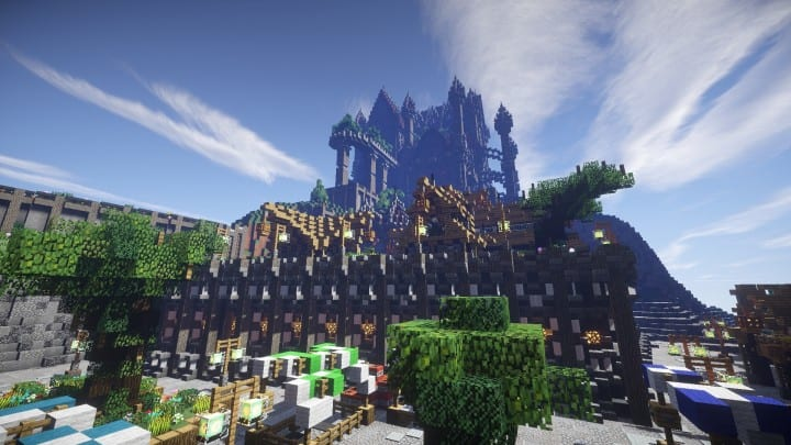 Regensbergen Castle Minecraft Building Inc