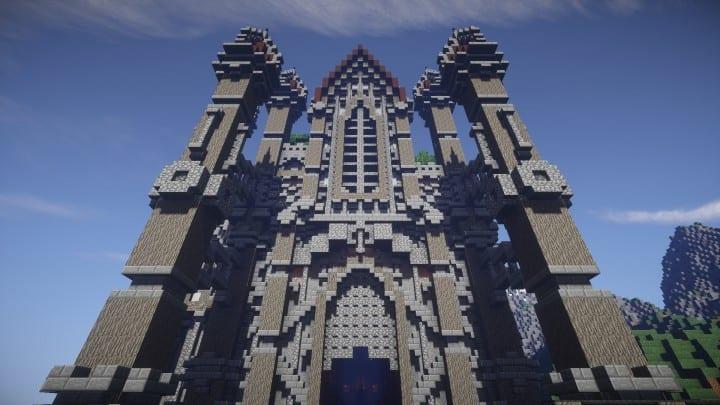 Regensbergen minecraft castle building ideas download hill top wall city 14