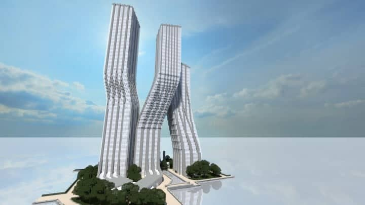 Signature Towers Dancing Towers skyscraper amazing tall big download 3