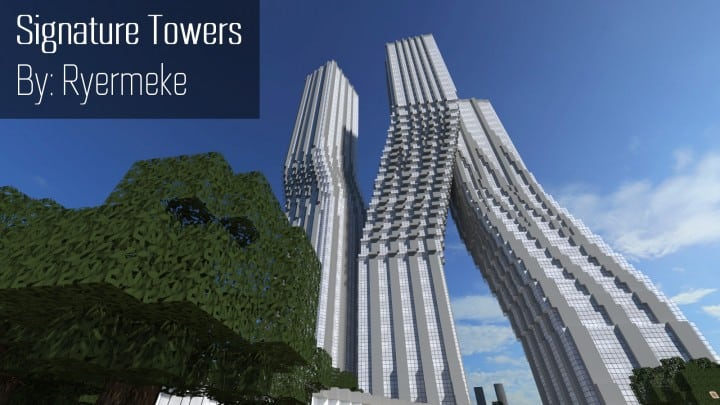 Signature Towers Dancing Towers skyscraper amazing tall big download