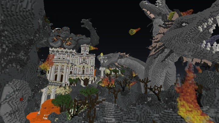 The Last Breath LordBlock Application Minecraft building ideas download dragon monster 14