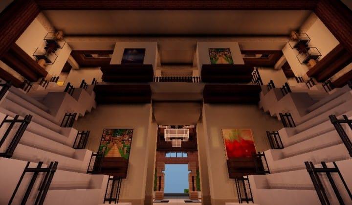 Tudor Mansion Minecraft Building Ideas Big Amazing House Home Download Interior 4