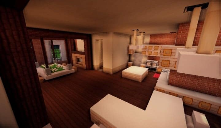 Tudor Mansion minecraft building ideas big amazing house home download interior 6