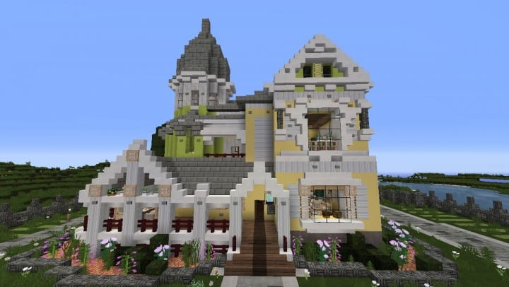 Victorian House Home download mincraft amazing quartz wrap around