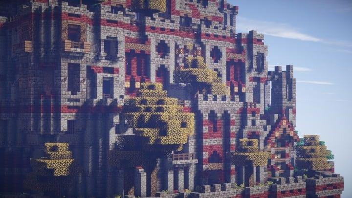 Ye Olde Tower minecraft building ideas castle fun amazing huge 2