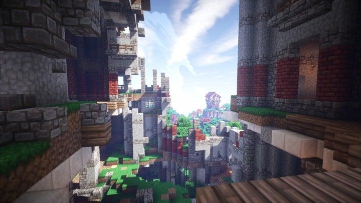 Ye Olde Tower minecraft building ideas castle fun amazing huge 4