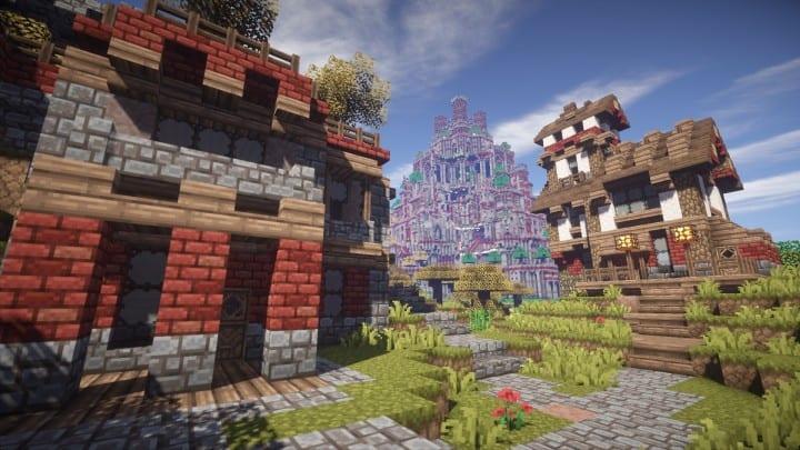 Ye Olde Tower minecraft building ideas castle fun amazing huge 6