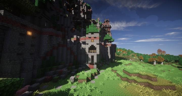 Ye Olde Tower minecraft building ideas castle fun amazing huge 7