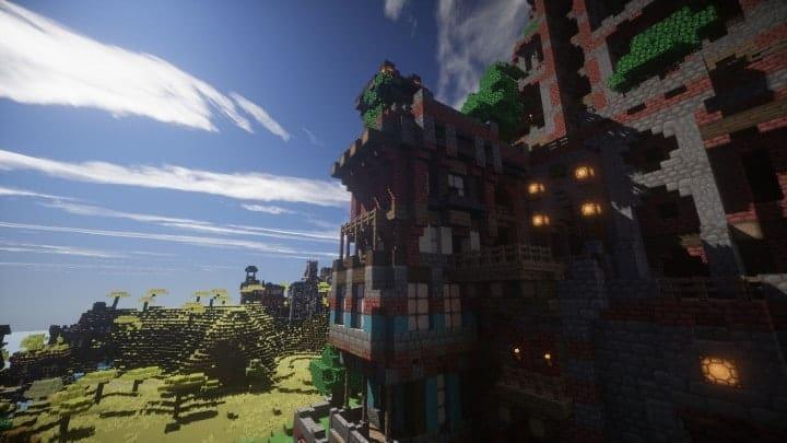 Ye Olde Tower minecraft building ideas castle fun amazing huge 8