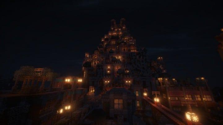 Ye Olde Tower minecraft building ideas castle fun amazing huge 9