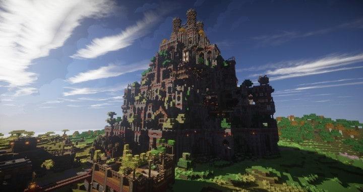 Ye Olde Tower minecraft building ideas castle fun amazing huge