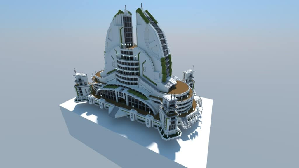Anno 2070 Recreation 01 Leisure Center Minecraft