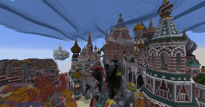 Faberzhe Palace minecraft underwater buiding idea sea castle tower 16