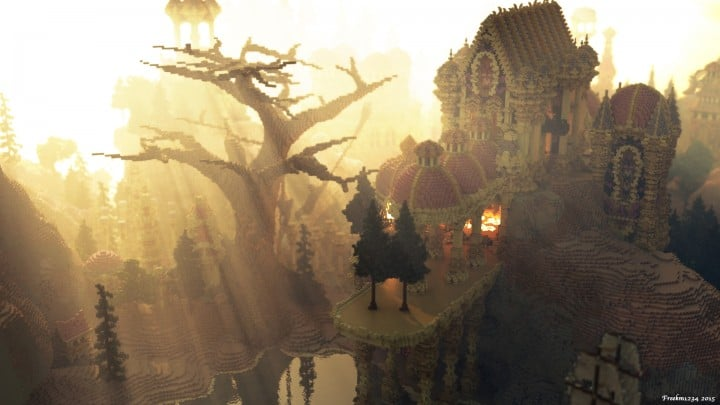 Niteal - The Lost Kingdom McBcon minecraft building castle idea amazing how download 6