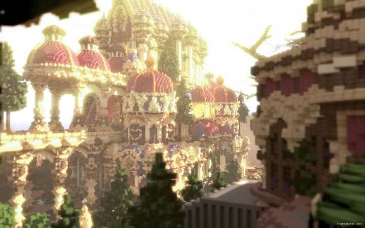 Niteal - The Lost Kingdom McBcon minecraft building castle idea amazing how download 7