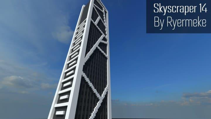 Skyscraper 14 minecraft build ideas download tall amazing business