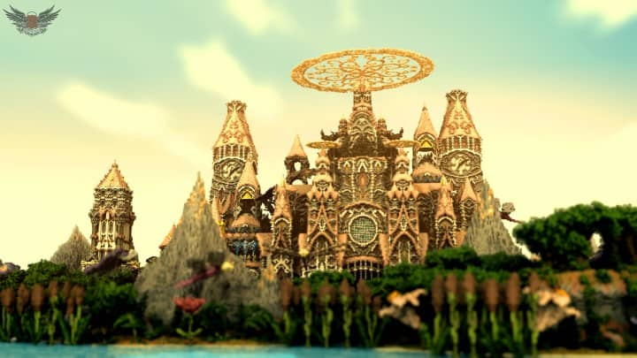 Tarsia The Immortal Palace minecraft building ideas download save castle tower future
