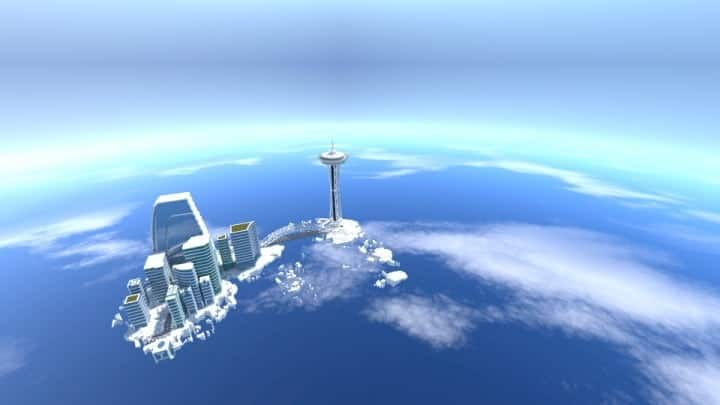 City on the cloud minecraft building ideas download skyscraper tall office 2
