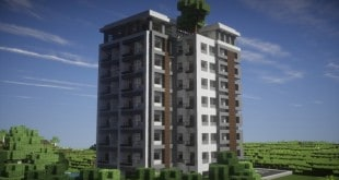 Gallery World ViewerModern Apartments Building Minecraft Project. It S A  Modern High Rise Building Equipped With Parking A Pool A Lobby And An  Elevator