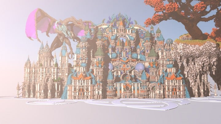 My Last Build- Divinity minecraft building design download save future fantasy 2