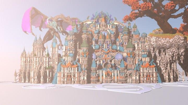 My Last Build- Divinity minecraft building design download save future fantasy 2