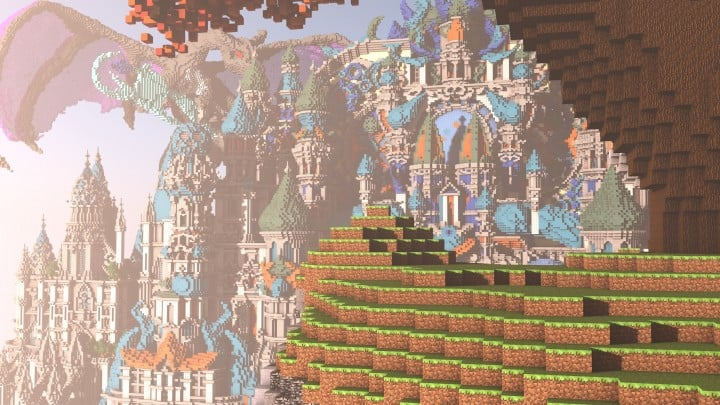 My Last Build- Divinity minecraft building design download save future fantasy 3