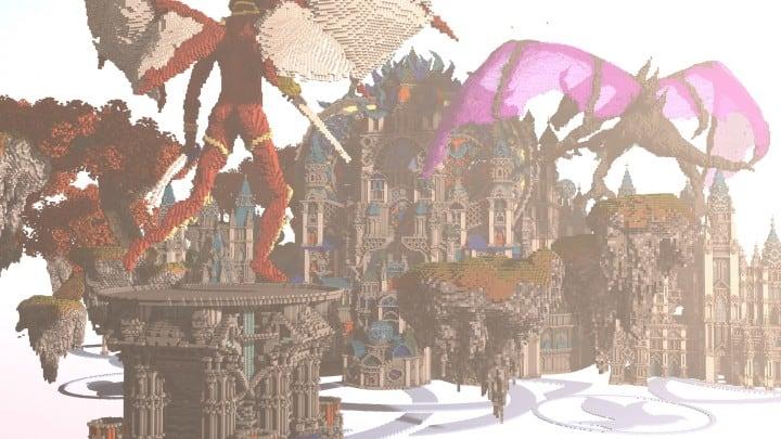 My Last Build- Divinity minecraft building design download save future fantasy 4