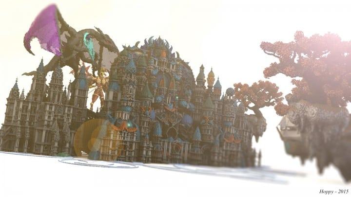 My Last Build- Divinity minecraft building design download save future fantasy 5