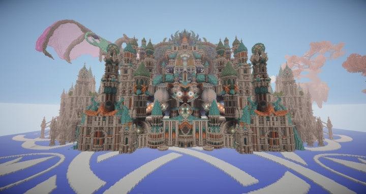 My Last Build- Divinity minecraft building design download save future fantasy 6