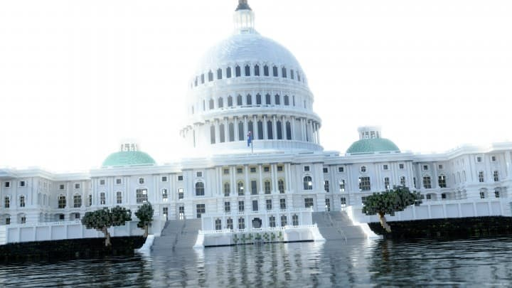 Washington DC Capitol minecraft building ideas realistic amazing download save 2