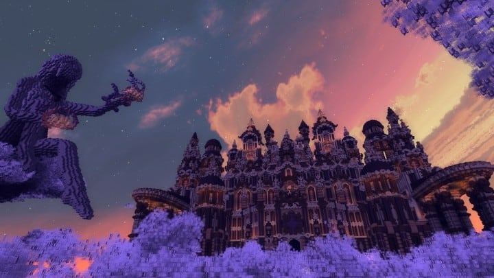 Glaricus minecraft castle building ideas home tower fantacy 10