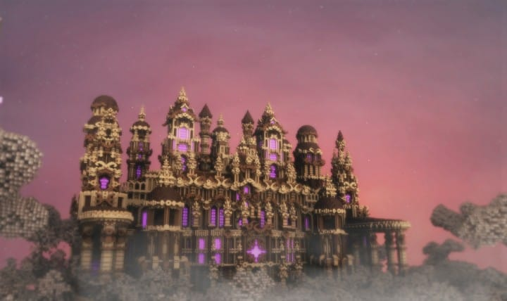 Glaricus minecraft castle building ideas home tower fantacy 2