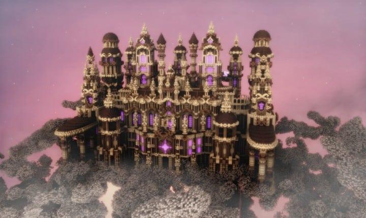 Glaricus minecraft castle building ideas home tower fantacy 3