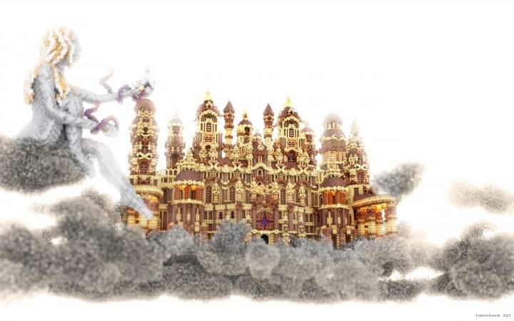 Glaricus minecraft castle building ideas home tower fantacy 4