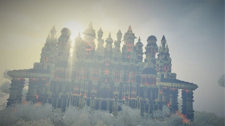 Glaricus minecraft castle building ideas home tower fantacy 8