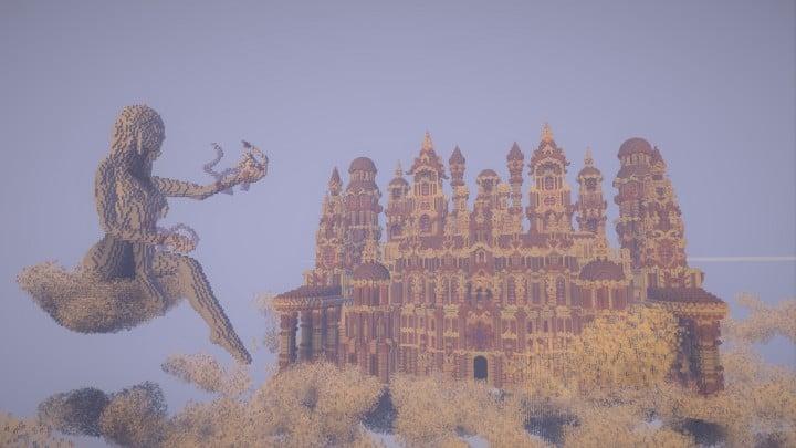 Glaricus minecraft castle building ideas home tower fantacy 9