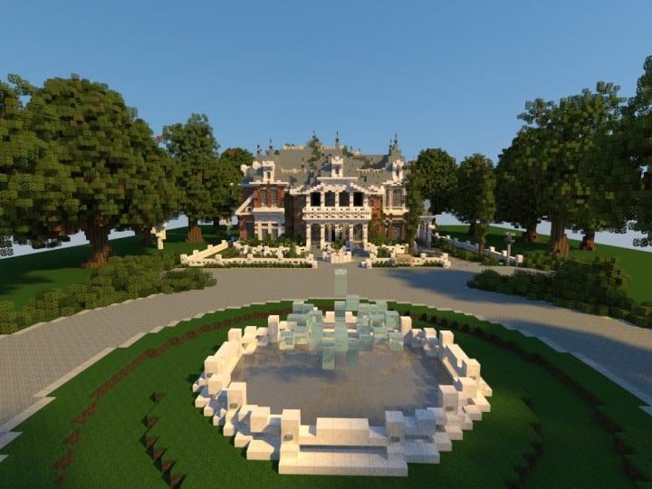 Renaissance Manor minecraft building ideas download plantation house 2