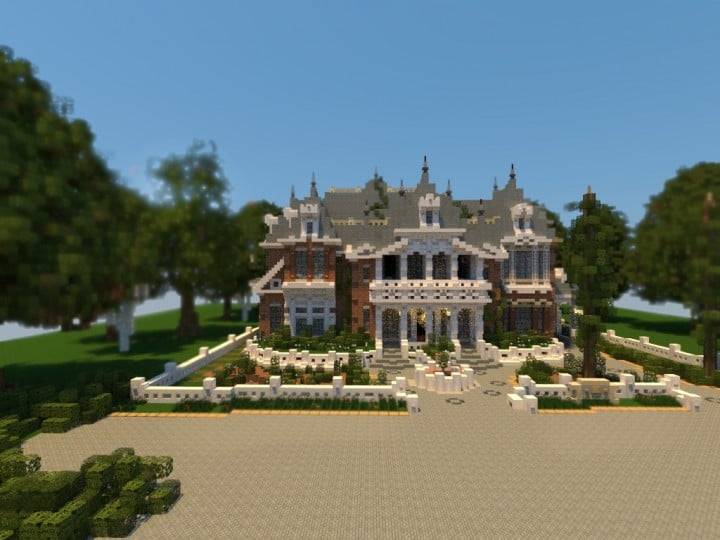 Renaissance Manor minecraft building ideas download plantation house 3
