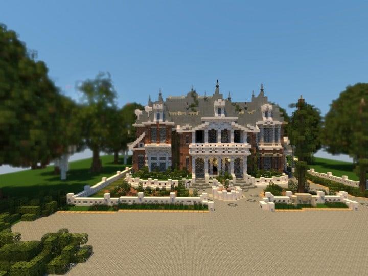 Renaissance Manor minecraft building ideas download plantation house 3