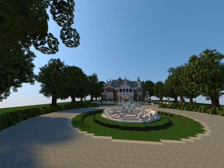 Renaissance Manor minecraft building ideas download plantation house 4
