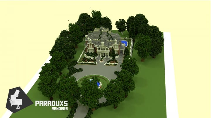 Renaissance Manor minecraft building ideas download plantation house 5