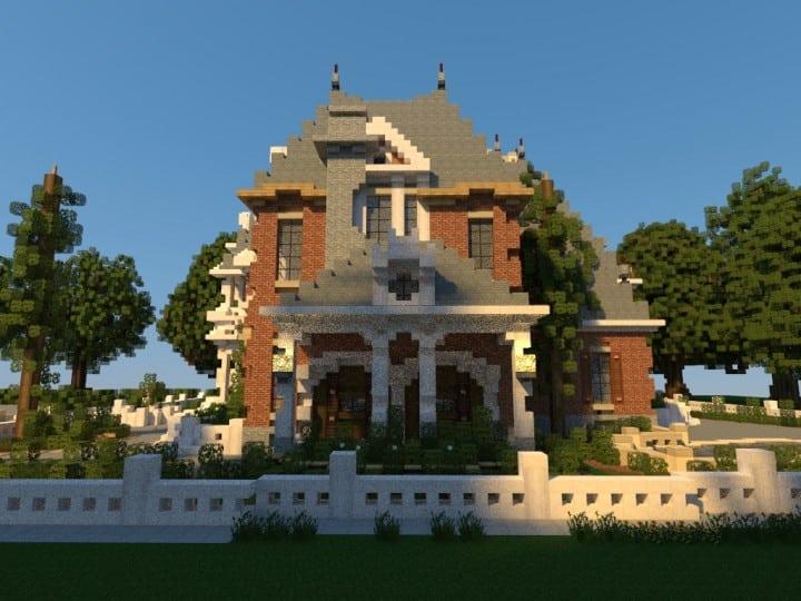 Renaissance Manor minecraft building ideas download plantation house 6