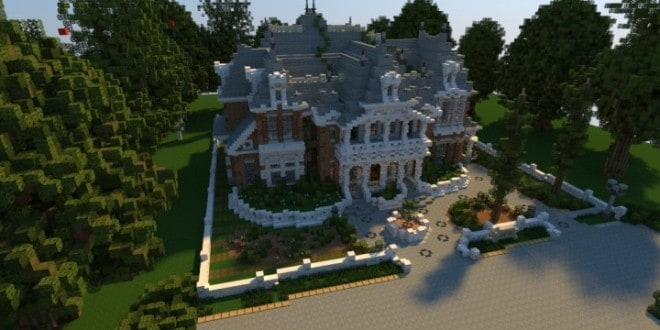 Renaissance Manor minecraft building ideas download plantation house