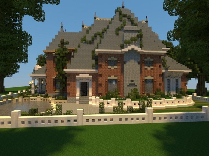 Renaissance Manor minecraft building ideas download plantation house 7