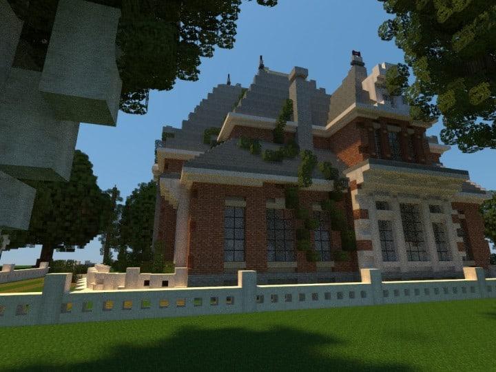 Renaissance Manor minecraft building ideas download plantation house 8